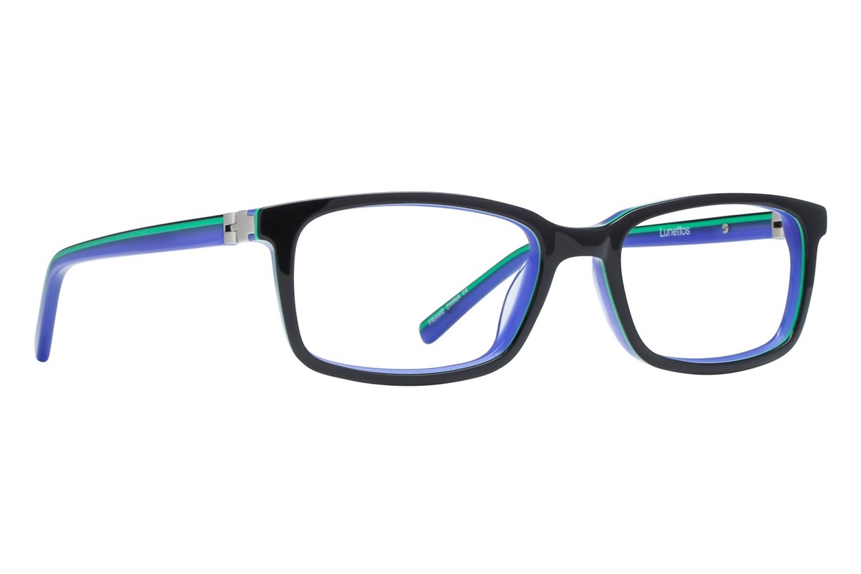 Lunettos Apollo Eyeglasses - Black
