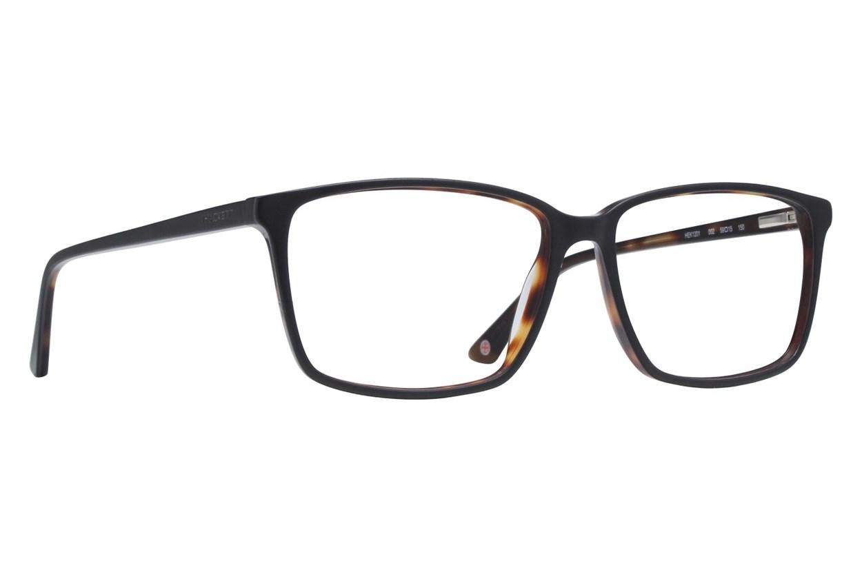 Hackett London Large Fit HEK1201 Eyeglasses - Black