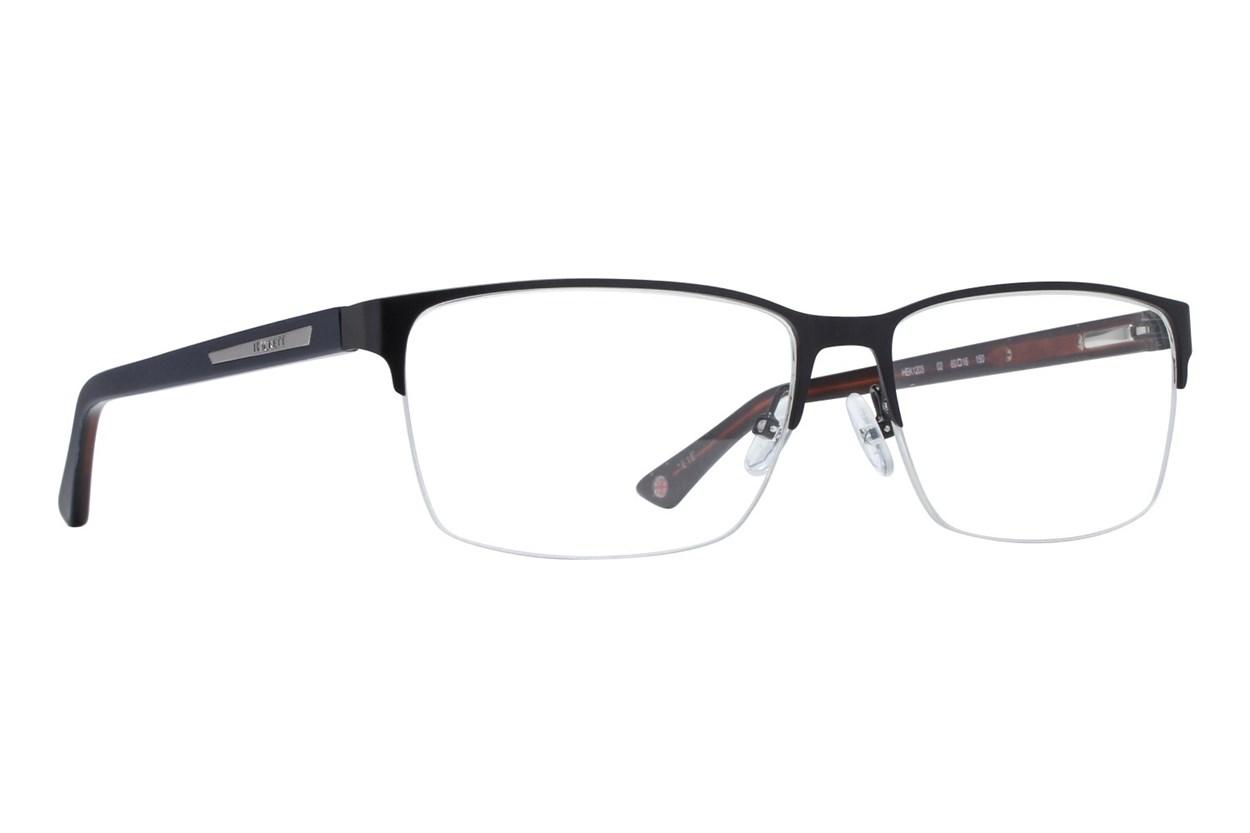 Hackett London Large Fit HEK1203 Eyeglasses - Black