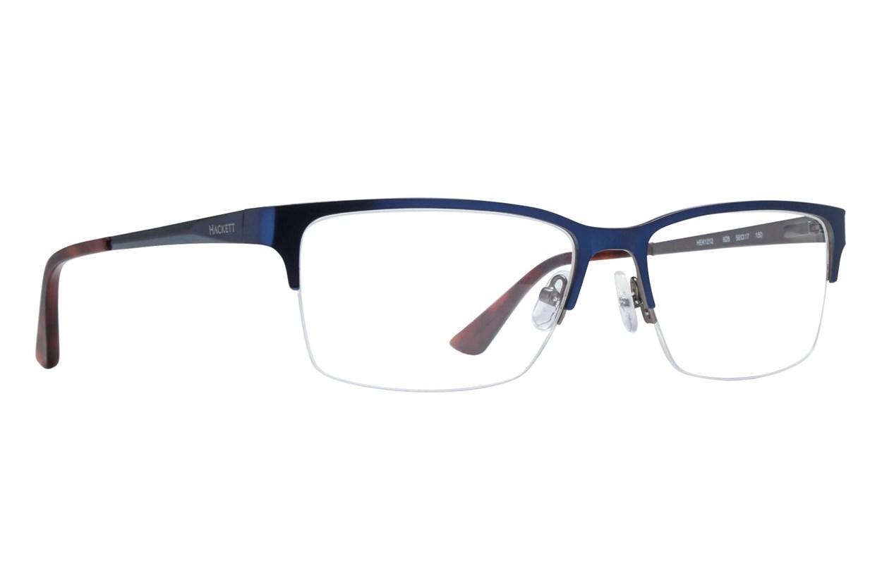 Hackett London Large Fit HEK1212 Eyeglasses - Blue