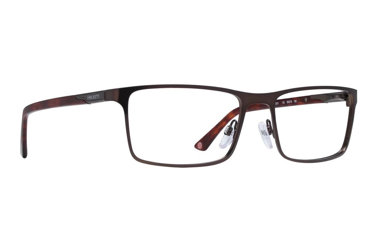 Hackett London Large Fit HEK1213 Eyeglasses - Brown