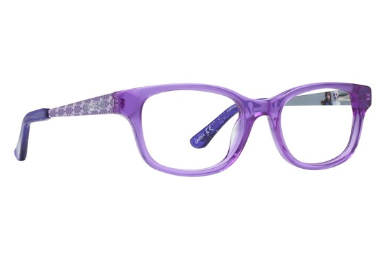 Disney Frozen FZE909 Eyeglasses - Purple