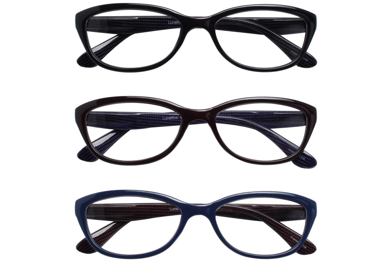 Lunettos Peggy Reading Glasses 3-Pack