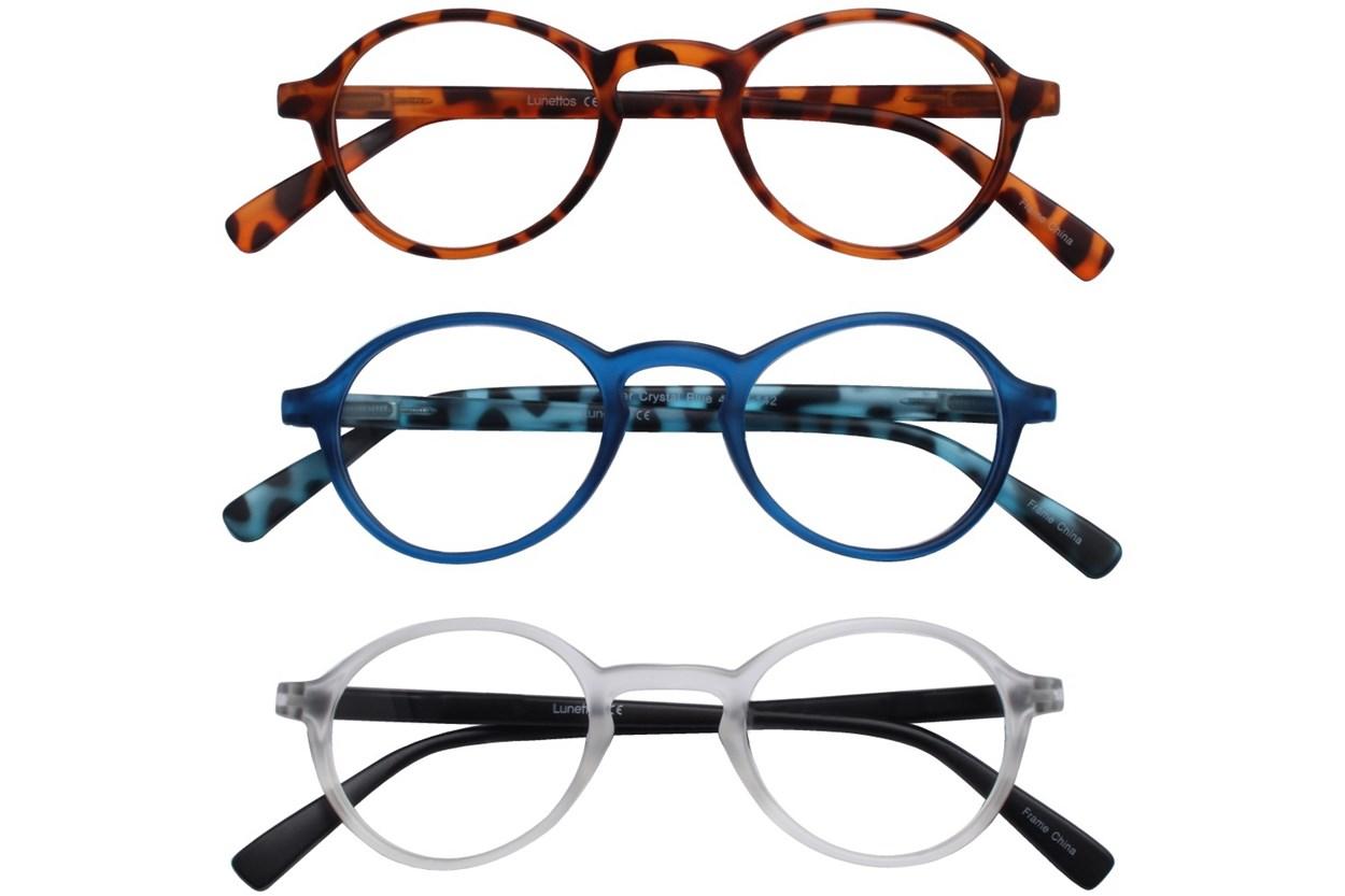 Lunettos River Reading Glasses 3-Pack ReadingGlasses