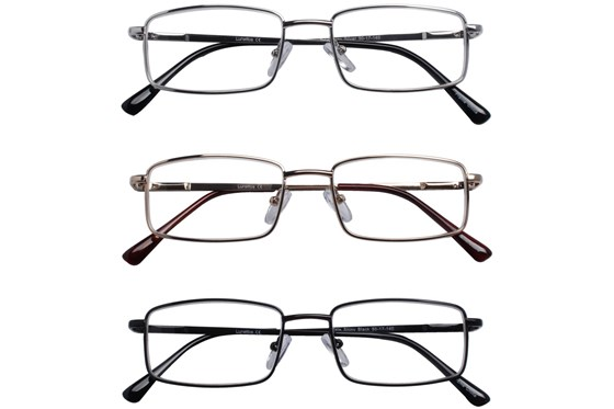 Lunettos Tate Reading Glasses 3-Pack ReadingGlasses