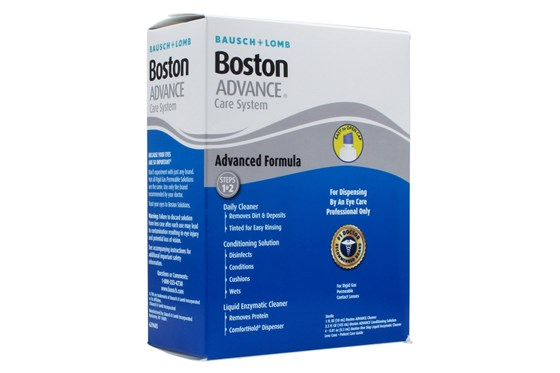 Boston Advance Care Kit for Rigid Gas Permeable RGP Contact Lenses SolutionsCleaners